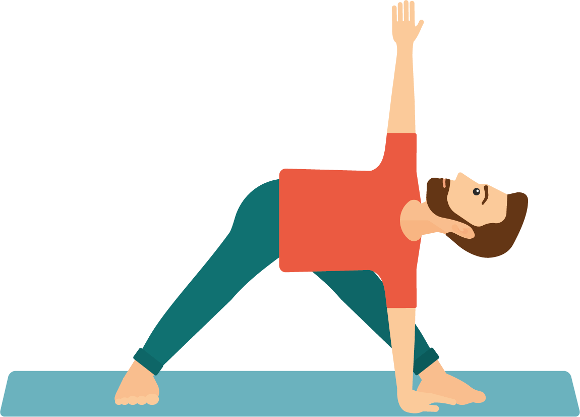 Postura triangulo